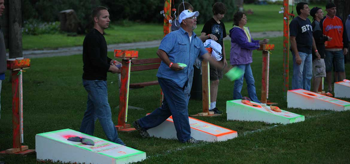 The Black Light Bean Bag Toss Johnsburg